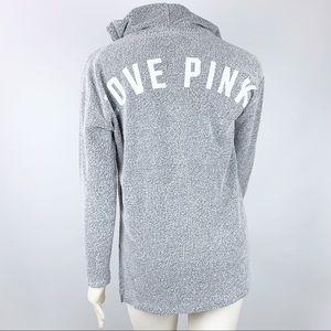 PINK Victoria's Secret | Love Pink Hoodie Gray XS